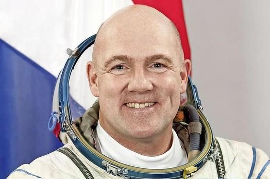 André Kuipers in astronautenpanel