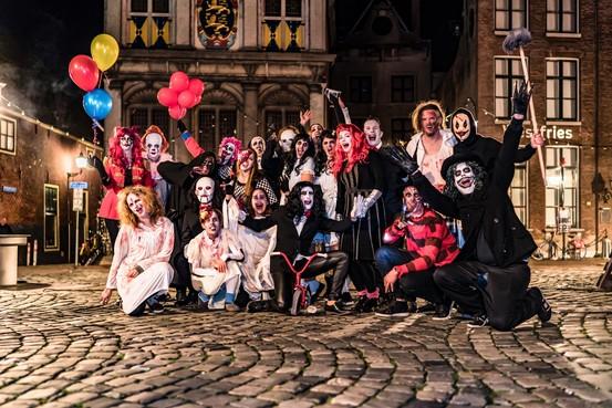 Nachtmerries als belofte bij Halloween Horror Walk in Hoorn: 'Dit is echt heel serieus eng'