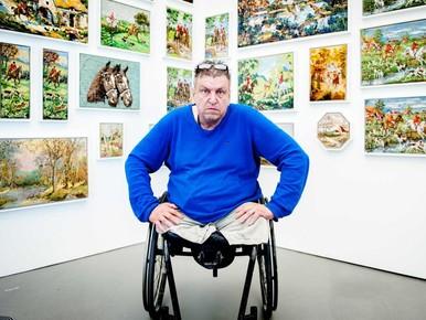 Kunstenaar Rob Scholte legt beslag op oude postkantoor Den Helder