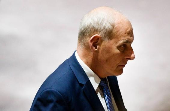 'Vertrek John Kelly uit Witte Huis aanstaande'