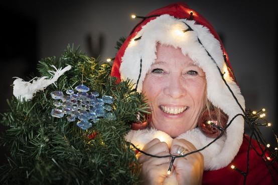 Twaalf maanden kerst voor Antoinette Modderman uit Velsen-Zuid
