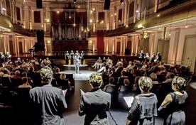 De Koorbiënnale in 2015 bracht onder meer een optreden van Capella Amsterdam in de Philharmonie