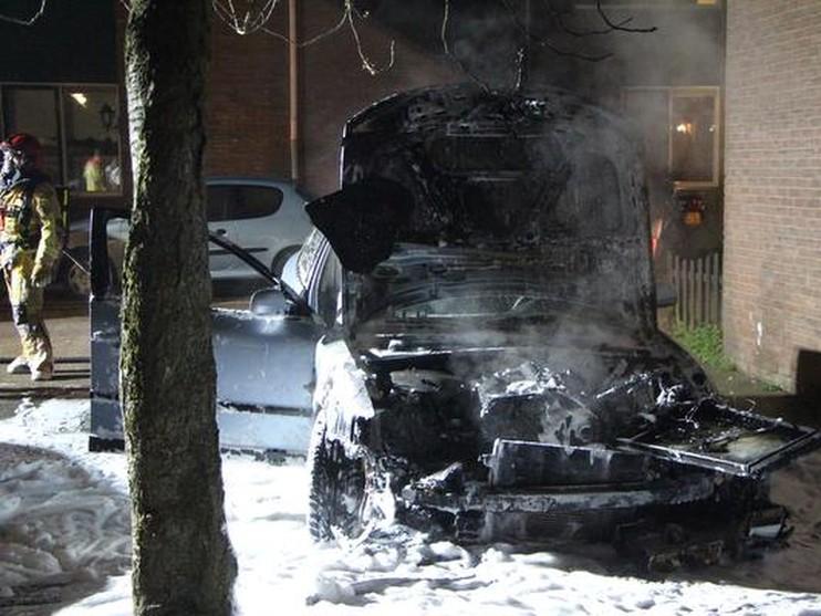 Nacht vol autobranden in Zaandam [video]