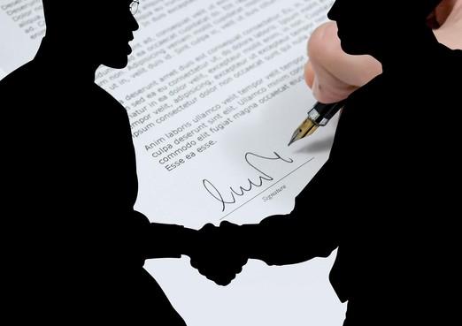 Ongetekend contract, is dat wel geldig?