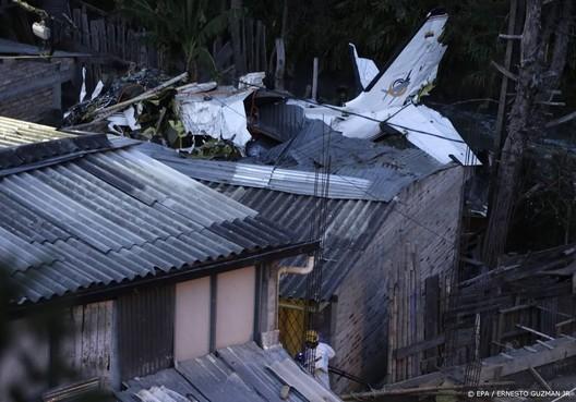 Doden en gewonden door vliegtuigcrash Colombia