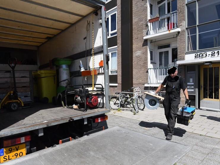 Wietkwekerij ontdekt in Alphen, één persoon aangehouden