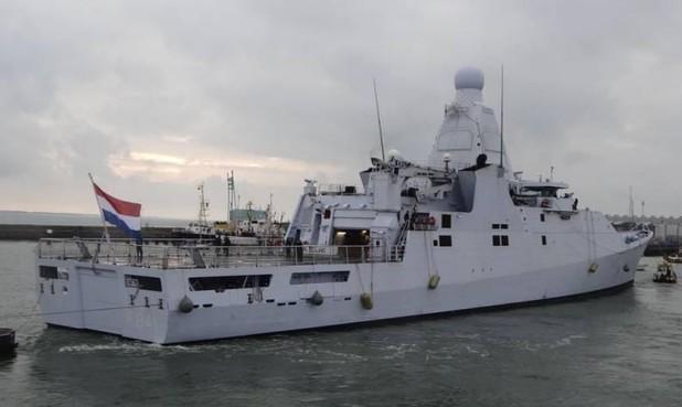 Enorme drugsvangst marineschip Zr. Ms. Zeeland