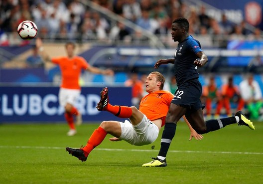 2,2 miljoen kijkers voor Frankrijk-Nederland