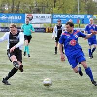 Nick Korssen heeft uitgehaald voor de uiteindelijk beslissende 1-0 tegen Alkmaarsche Boys.