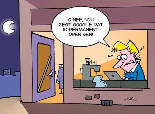 Kledingatelier Den Helder opgeschrikt door 'permanente sluiting' door Google