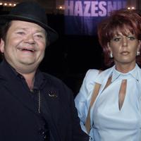 André en Rachel Hazes in 2001