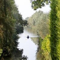 De 's Gravelandsche Vaart bij Loosdrecht, waar hij wel bevaarbaar is.
