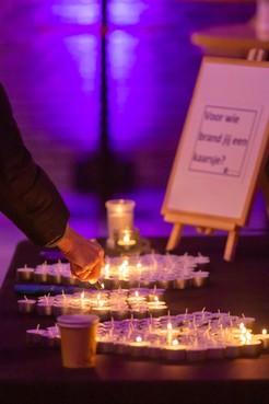 Op Wereldlichtjesdag gaat een golf van licht voor alle overleden kinderen door het Gooi