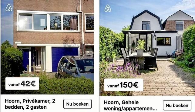 Verhuur kamers en woningen aan toeristen via Airbnb groeit in West-Friesland, controle op veiligheid ontbreekt
