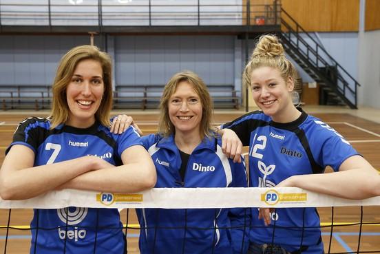 Dinto kan het als vijftigjarige volleybalclub nu helemaal zelf vorm geven