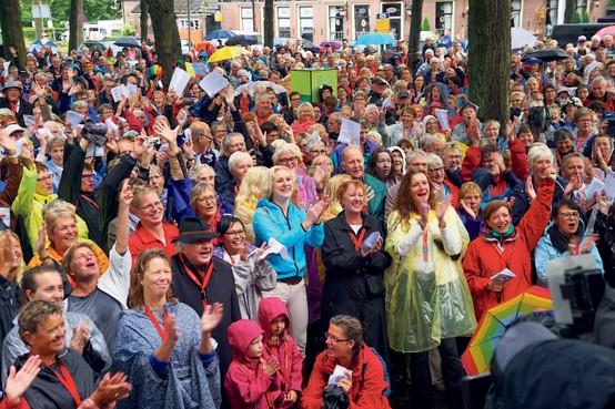 Zeemansliederenfestival en recordpoging Zuiderzeeballade