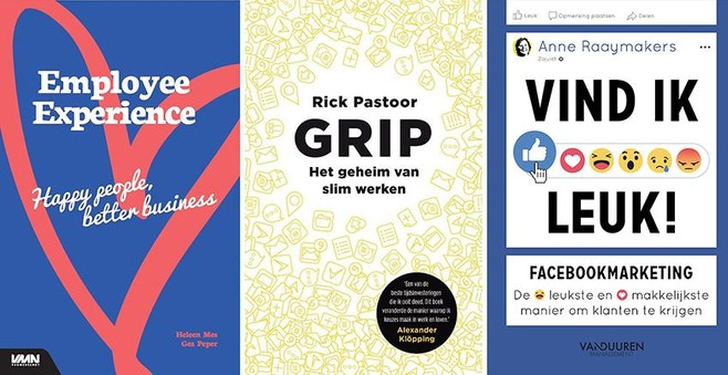 Nieuwe boeken: Blij en slimmer je werk doen