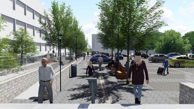Raadhuisplein Bussum en omgeving gaan voor half miljoen op de schop, maar er komt geen gehandicaptenlift