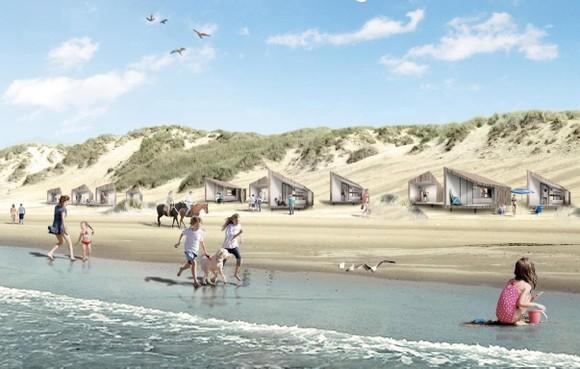 Raad van State verbiedt tachtig strandhuisjes Petten, ondernemer overweegt schadeclaim van 1,2 miljoen euro
