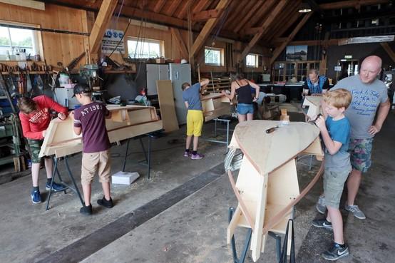 'Bouw je bootje' van start in Huizen