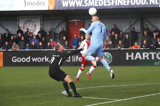 Titel ver weg voor IJsselmeervogels na onverwachte nederlaag tegen HHC Hardenberg