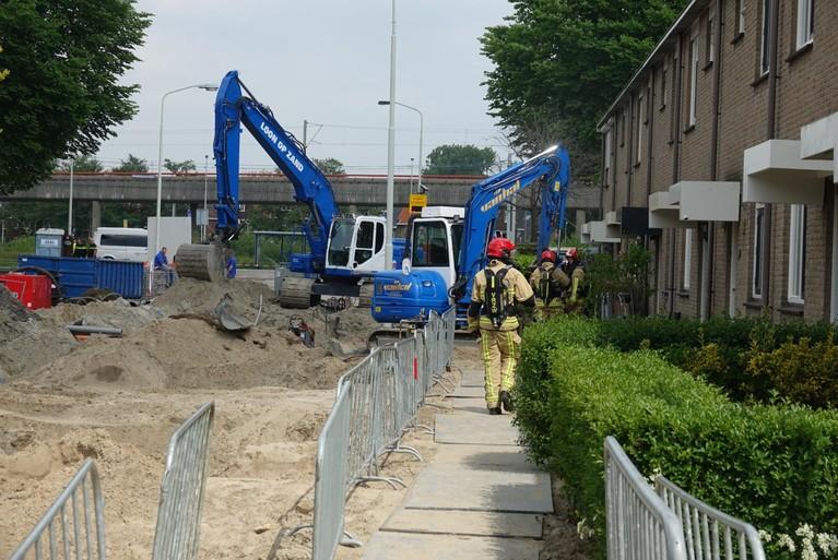 Diepenbroekstraat en Bennebroekstraat in Zaandam afgesloten geweest door gaslek [update]