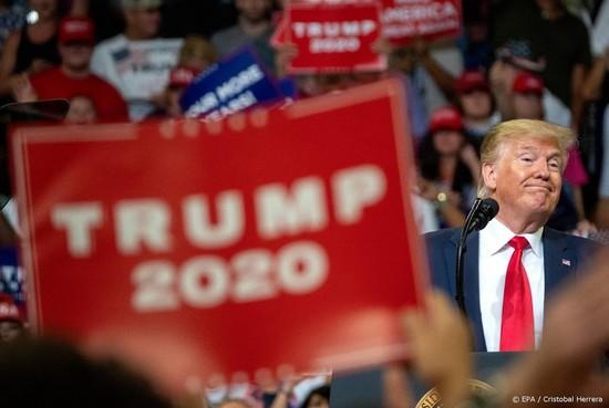 Trump haalt miljoenen op voor herverkiezing