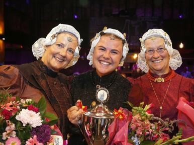 Nieuwe Miss Westfriese Folklore Schagen komt uit Hoogwoud