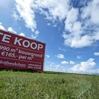 Er is nog ruim aanbod aan grond op Hoogtij.
