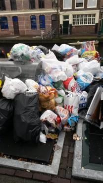 Leidse afvalbergen zijn weggewerkt