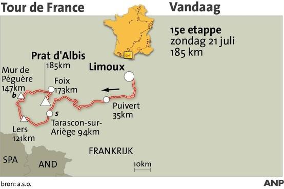 Opnieuw zware bergrit in Pyreneeën [met interactief kaartje]