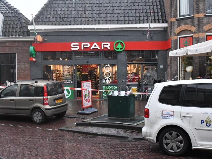 Spar-supermarkt aan de Herenstraat overvallen