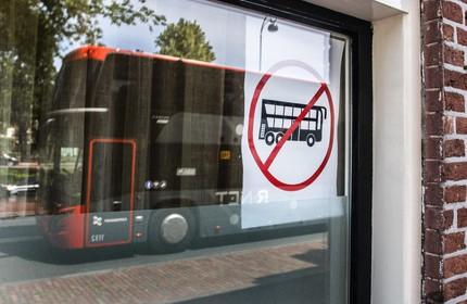 Dubbeldekkers lijn 346 tussen Haarlem en Amsterdam rijden vanaf augustus minder buiten de spits