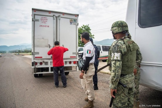 Mexico begint met verstevigen zuidgrens
