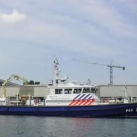 Politieboot P42 van IJmuiden.