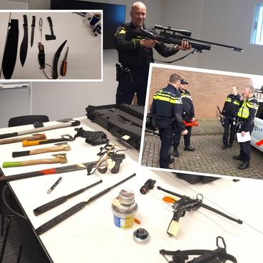 'Wapenarsenaal' aangetroffen in huis in Alkmaar