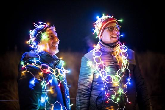 Fjoertoer Egmond: Een en al licht