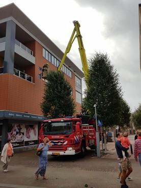 Storm zorgt voor overlast in Den Helder