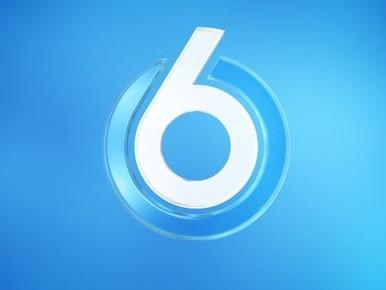 SBS6 ruilt rood logo in voor blauw
