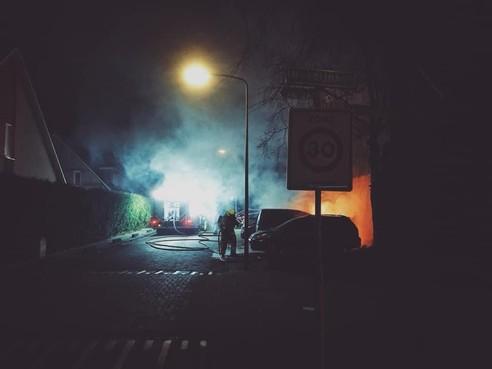 Politie: auto in brand gestoken in Hoorn