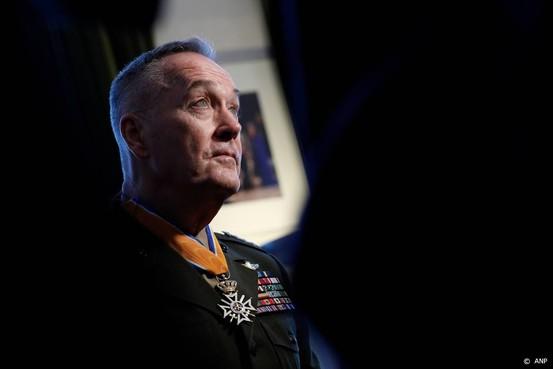 Hoogste militair VS stelt Nederland gerust