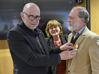 Koninklijke onderscheiding voor Gerard van Nes uit Schagerbrug