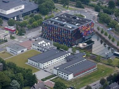 Hilversum in teken van Dutch Media Week