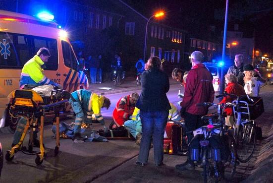 Vrouw ernstig gewond na ongeval in Egmond