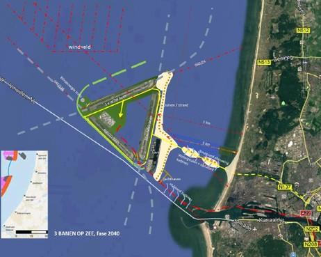 Luchthaven in zee geeft ook overlast