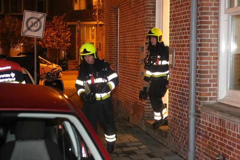Studentenhuis in Haarlem ontruimd na brand