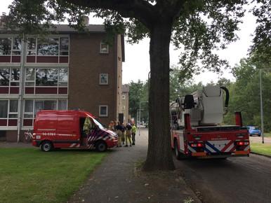 Brandlucht in Hilversum afkomstig van klussende buurman