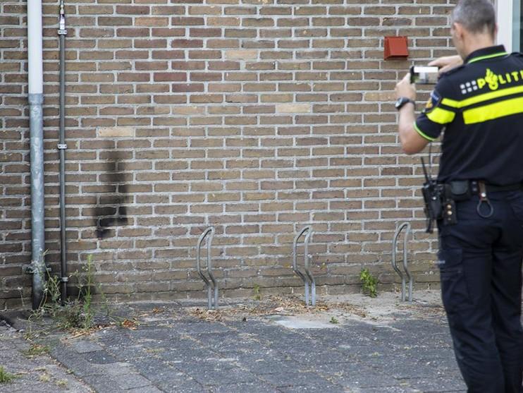 Brandstichting bij politiebureau in Nieuw-Vennep