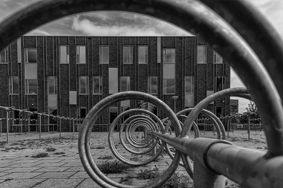 Stadsfotograaf Beverwijk verheft fietsenstalling tot kunst
