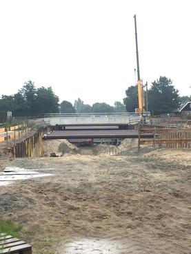 Bouw tunnel onder spoor bij Vennewatersweg Heiloo ligt op schema